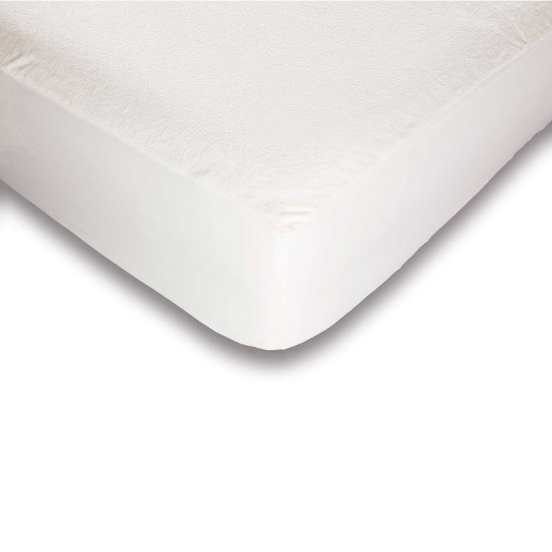 Fashion Bed Group Sleep Plush Mattress Protector Bed Sheet with Ultra-Soft and Waterproof Fabric - Queen