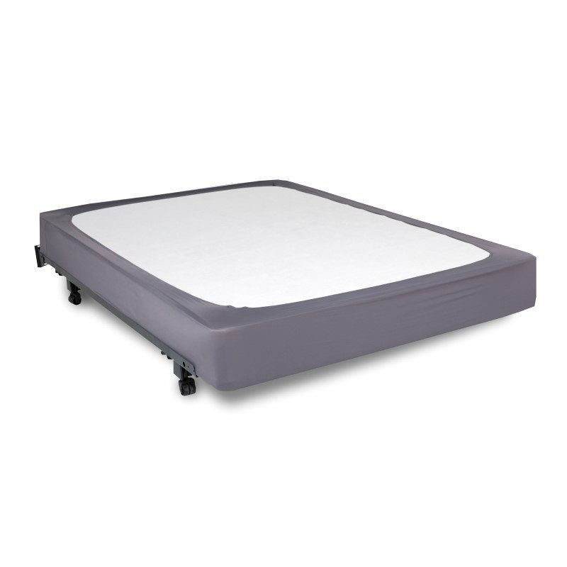 Fashion Bed Group Sleep Plush StyleWrap Stone Fabric Box Spring Cover - Full