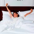 Fashion Bed Group Sleep Plush White 4-Piece Microfiber 500g Bed Sheet Set with Wrinkle Free Performance Fabric - Queen