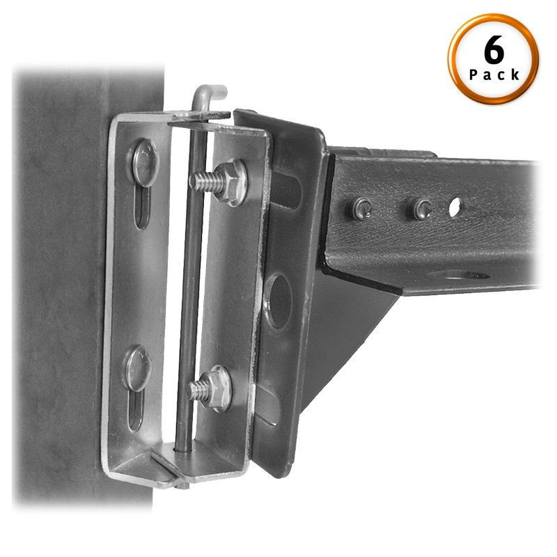 Fashion Bed Group Swing Hinge (Style # 67) Pair for Split King Beds - 6-Pair Pack