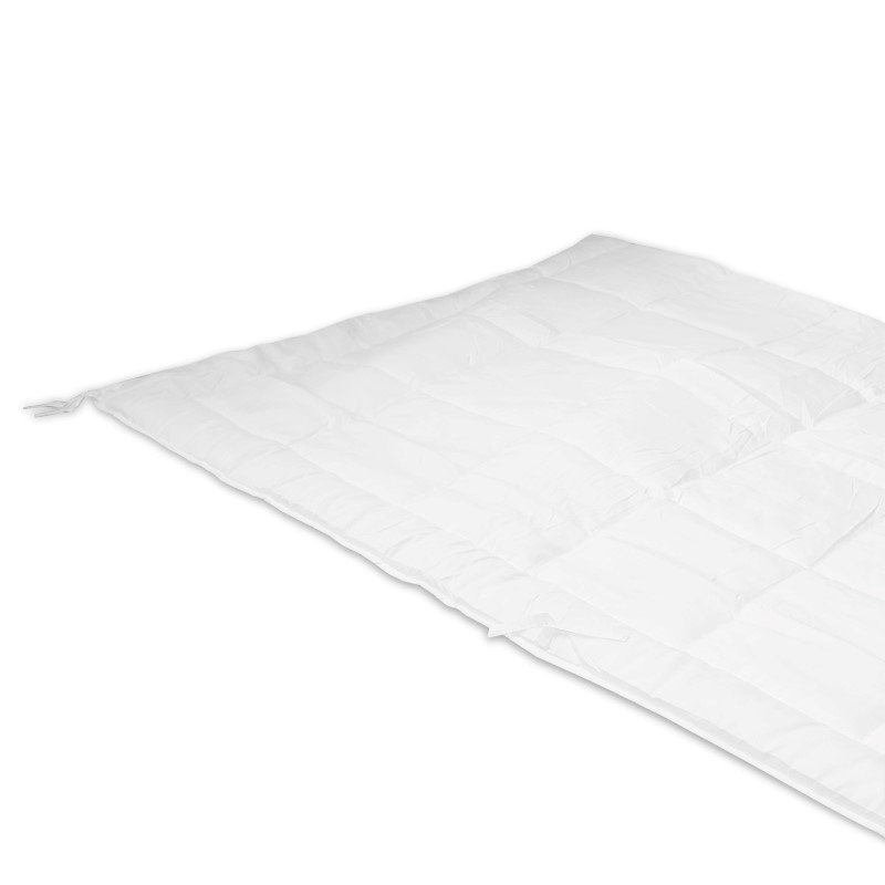 Fashion Bed Group White Microfiber Comforter Insert for Duvet Covers - King