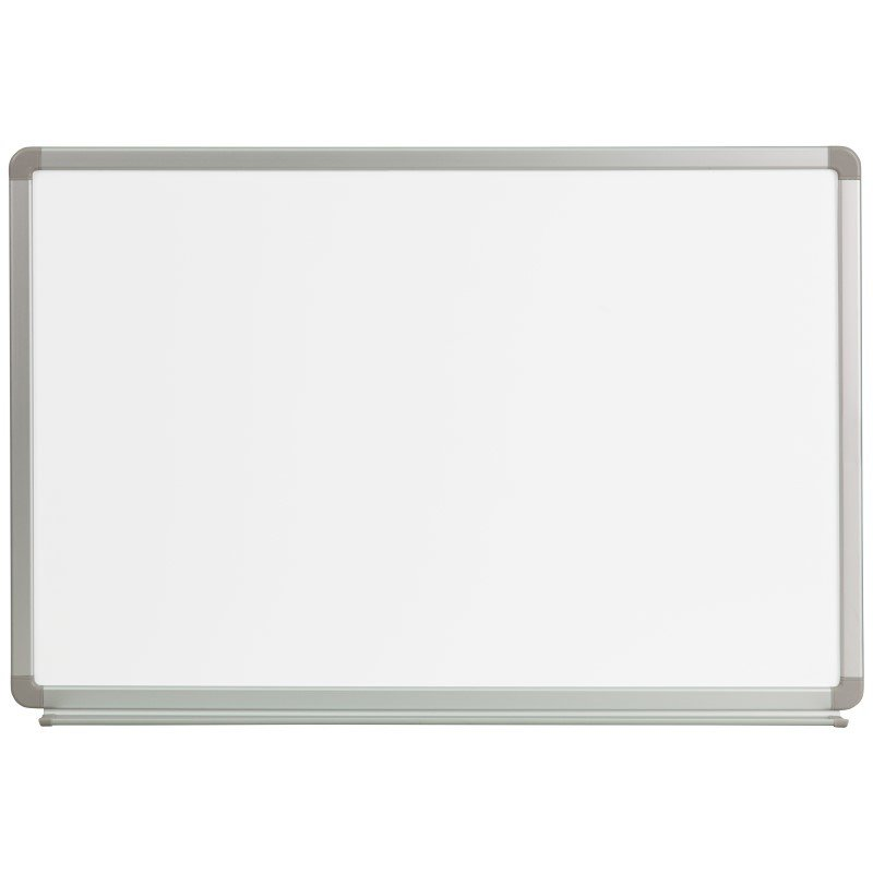 Flash Furniture 3' W x 2' H Magnetic Marker Board