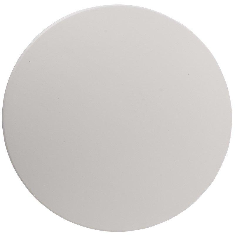 Flash Furniture 48'' Round Height Adjustable Granite White Plastic Folding Table