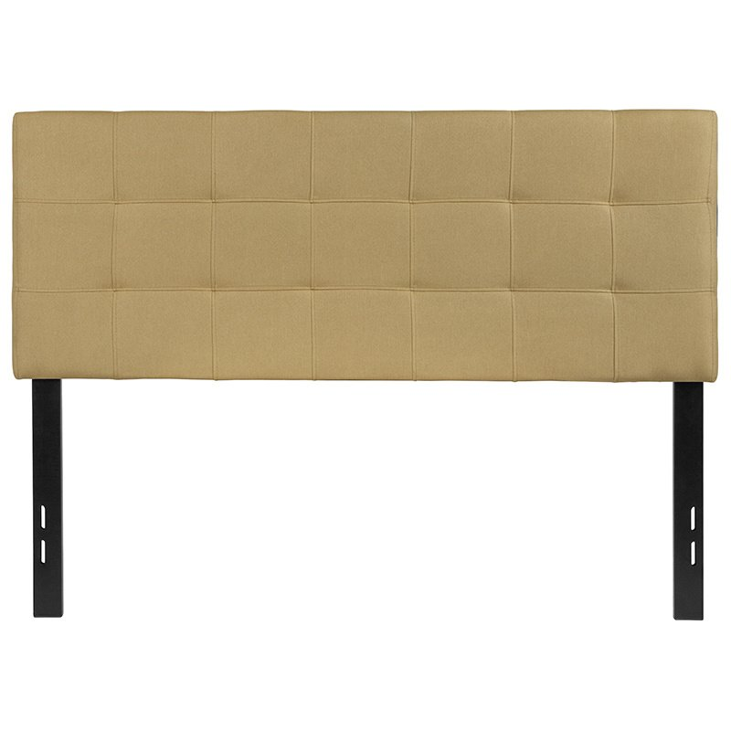 Flash Furniture Bedford Tufted Upholstered Full Size Headboard in Green Fabric (HG-HB1704-F-G-GG)