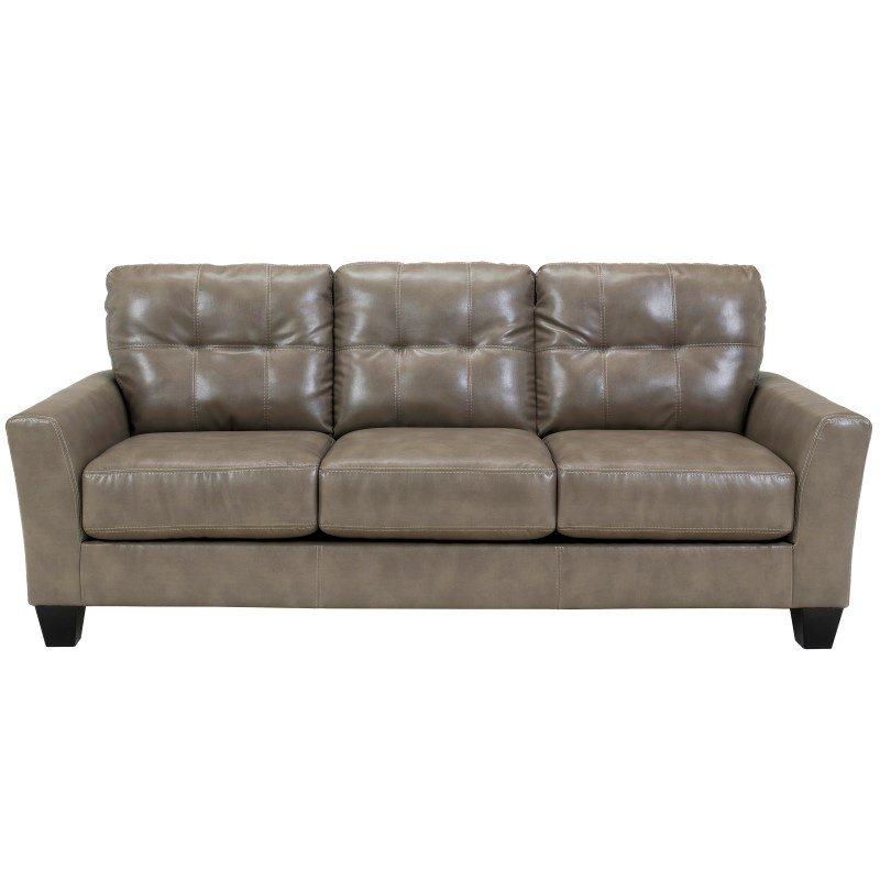 Flash Furniture Benchcraft Paulie Living Room Set in Quarry DuraBlend