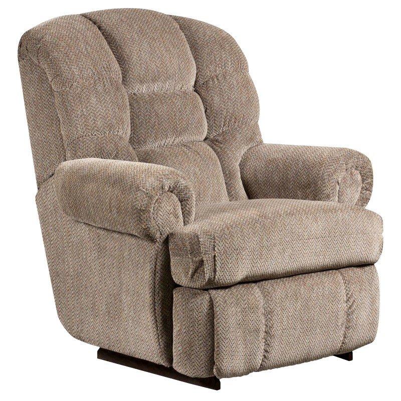 Flash Furniture Big and Tall 350 lb. Capacity Gazette Pewter Microfiber Recliner