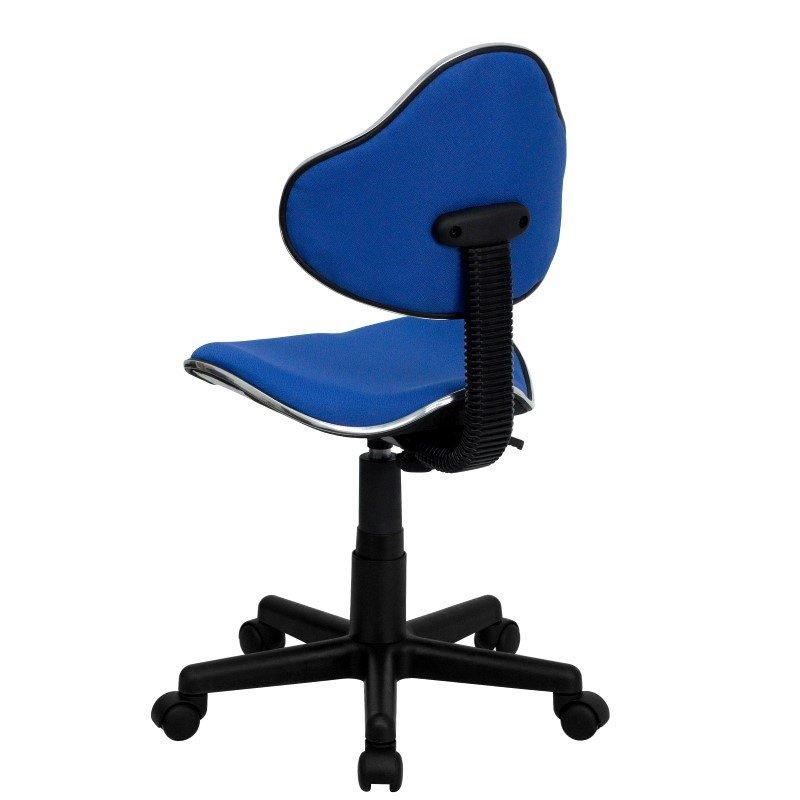 Flash Furniture Blue Fabric Ergonomic Swivel Task Chair