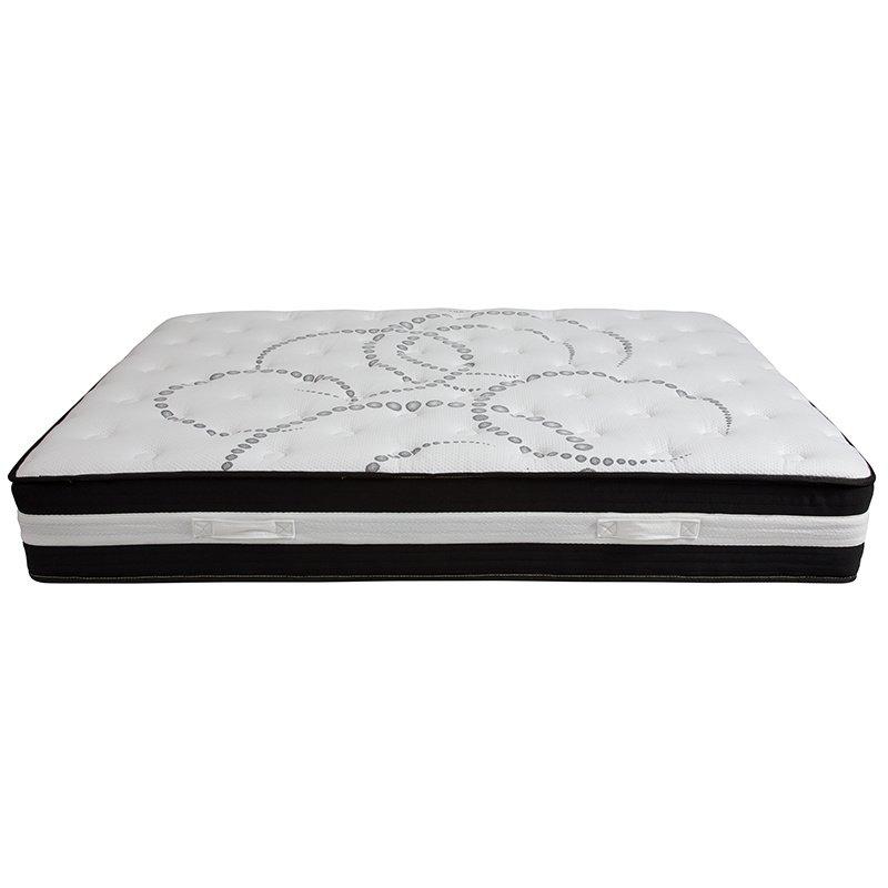Flash Furniture Capri Comfortable Sleep 12 Inch Foam and Pocket Spring Mattress - Queen in a Box (CL-E230P-R-Q-GG)