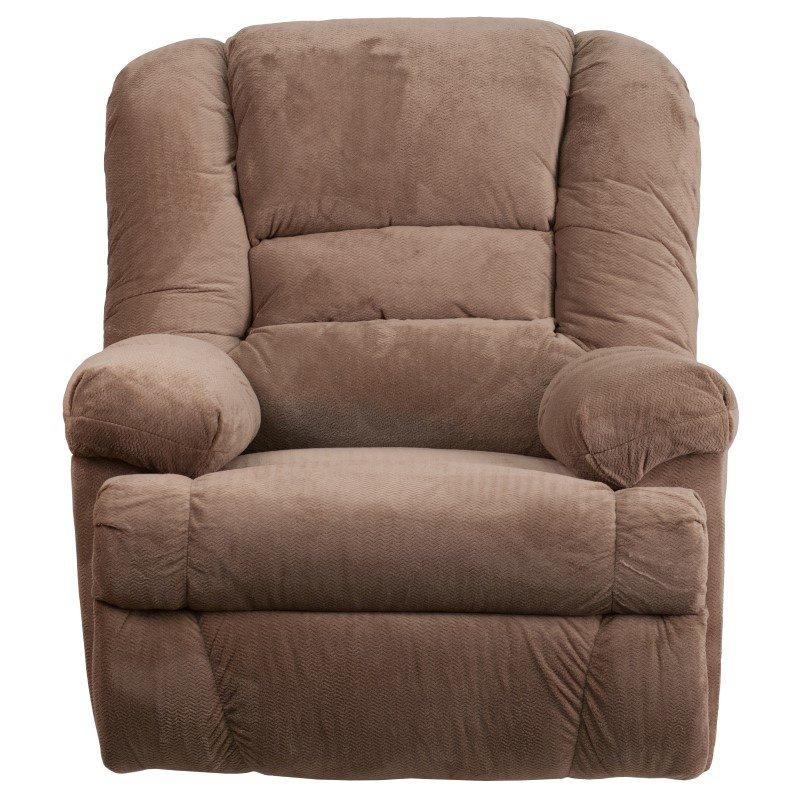 Flash Furniture Contemporary Dynasty Camel Microfiber Rocker Recliner