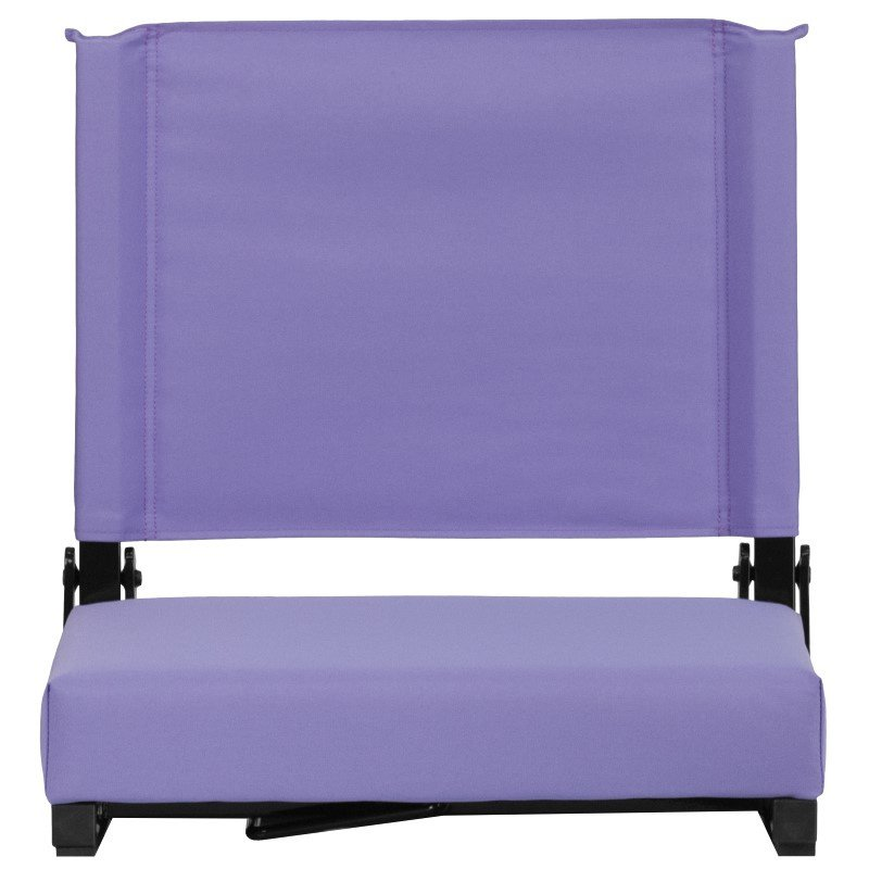 Flash Furniture Game Day Seats by Flash with Ultra-Padded Seat in Purple
