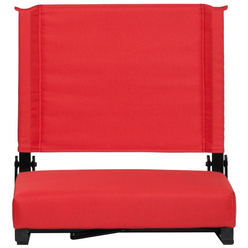 Flash Furniture Game Day Seats by Flash with Ultra-Padded Seat in Red