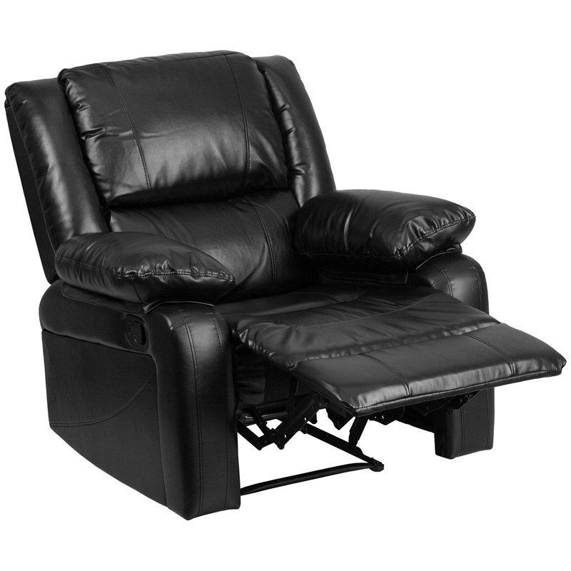Flash Furniture Harmony Series Black Leather Recliner (BT-70597-1-GG)
