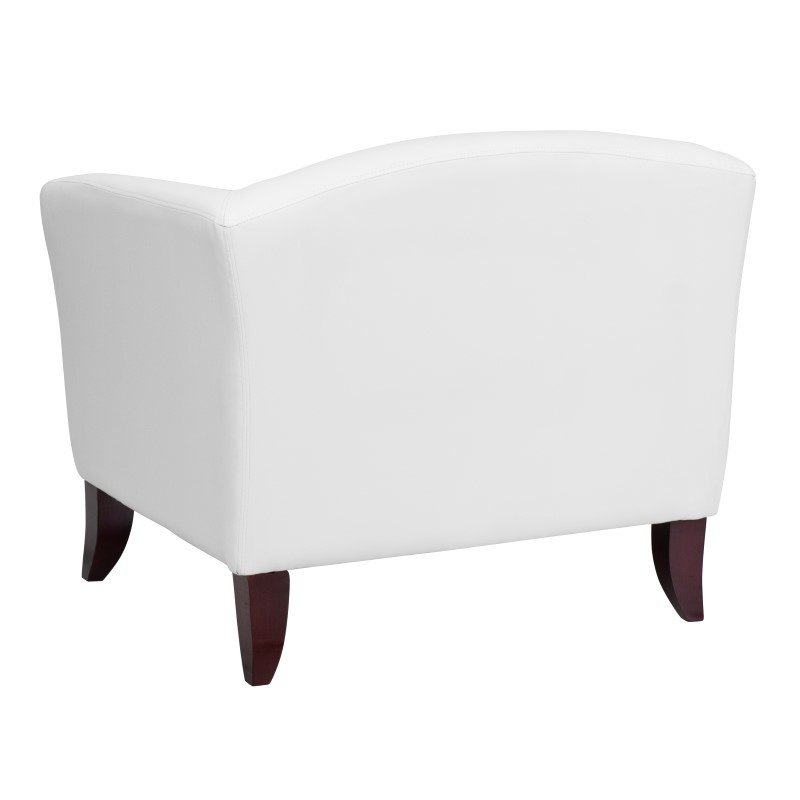 Flash Furniture HERCULES Imperial Series White Leather Chair