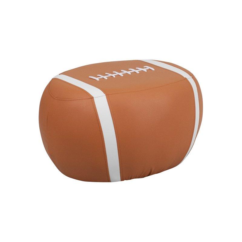Flash Furniture Kids Football Stool (HR-26-GG)