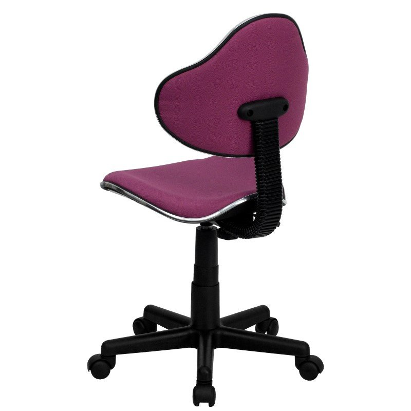 Flash Furniture Lavender Fabric Ergonomic Swivel Task Chair