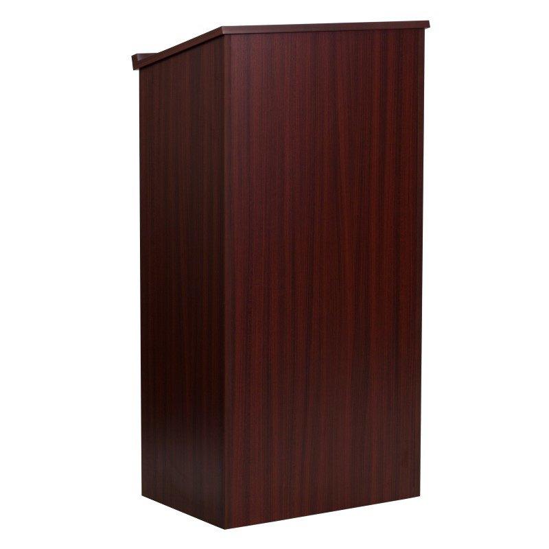 Flash Furniture Mahogany Stand-Up Lectern