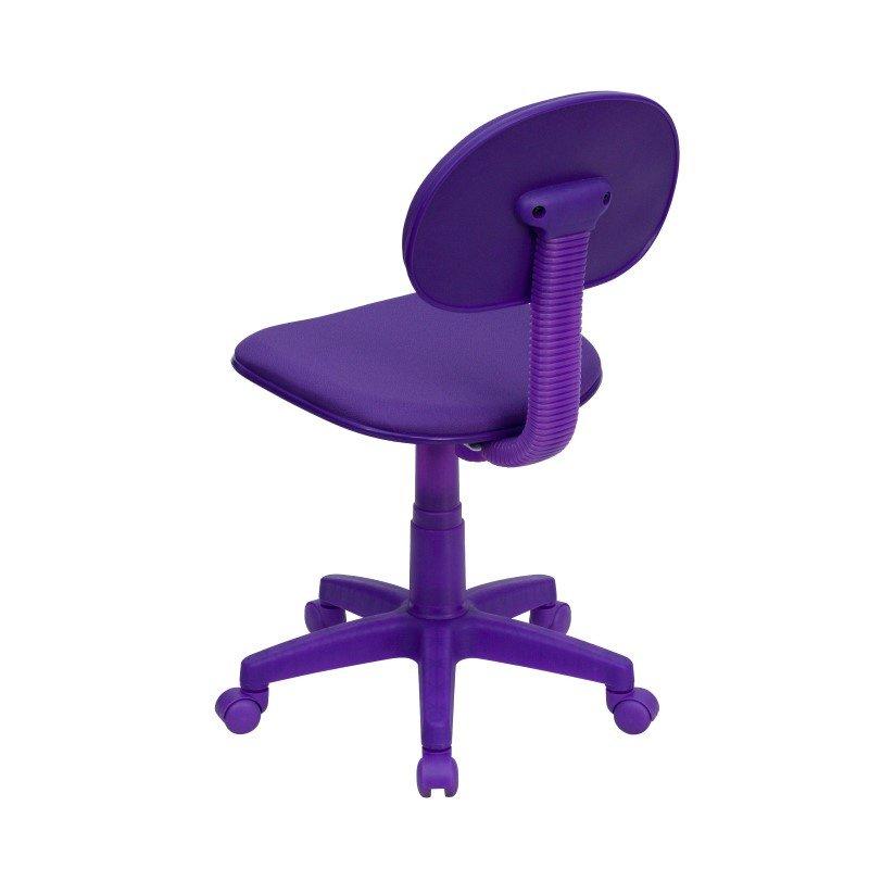 Flash Furniture Purple-Fabric Ergonomic Swivel Task Chair