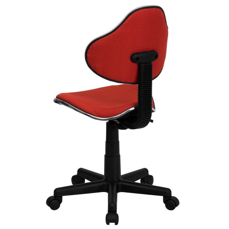 Flash Furniture Red Fabric Ergonomic Swivel Task Chair