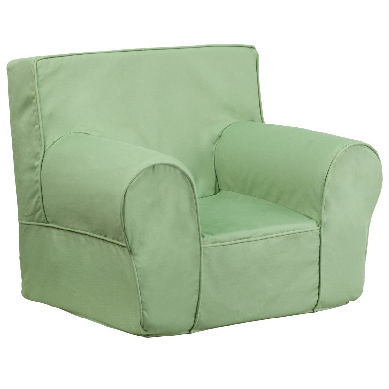 Flash Furniture Small Solid Green Kids Chair