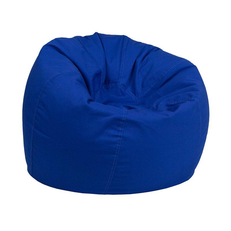 Flash Furniture Small Solid Royal Blue Kids Bean Bag Chair (DG-BEAN-SMALL-SOLID-ROYBL-GG)