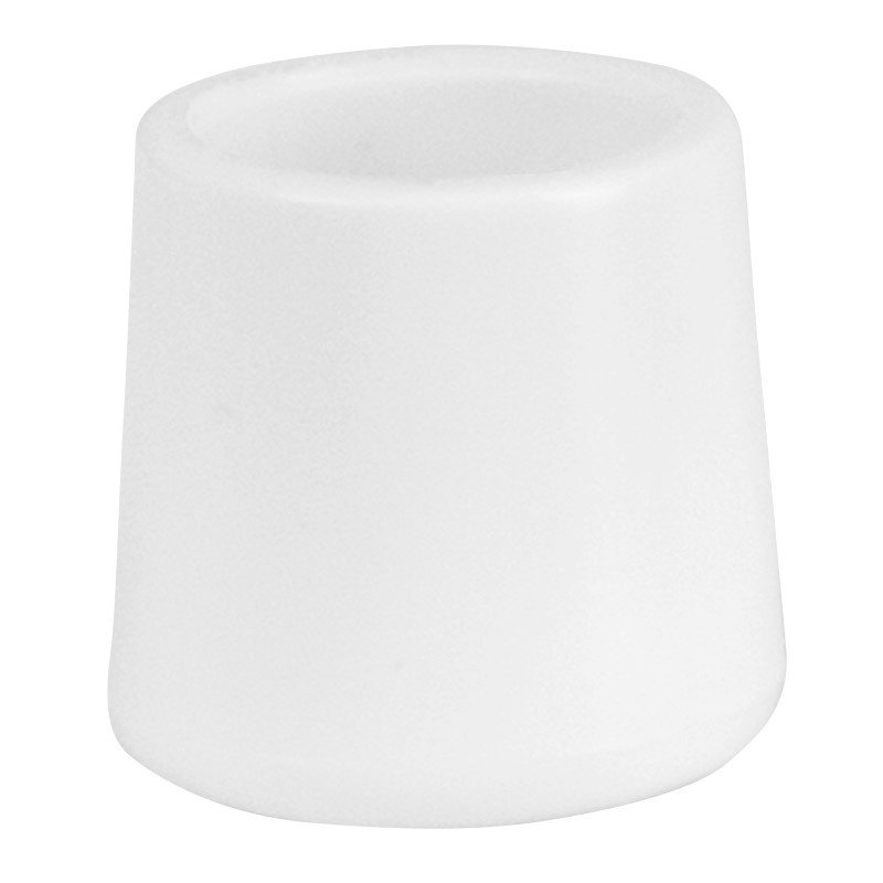 Flash Furniture White Replacement Foot Cap for Plastic Folding Chairs