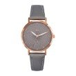 GO Girl Only Candide Quartz Ladies Watch in Gray Dial and Rose Gold Case with Gray Leather Band (698778)