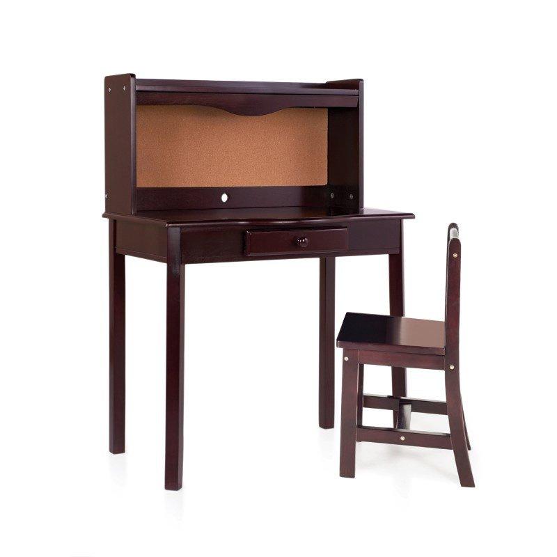 Guidecraft Classic Espresso Desk