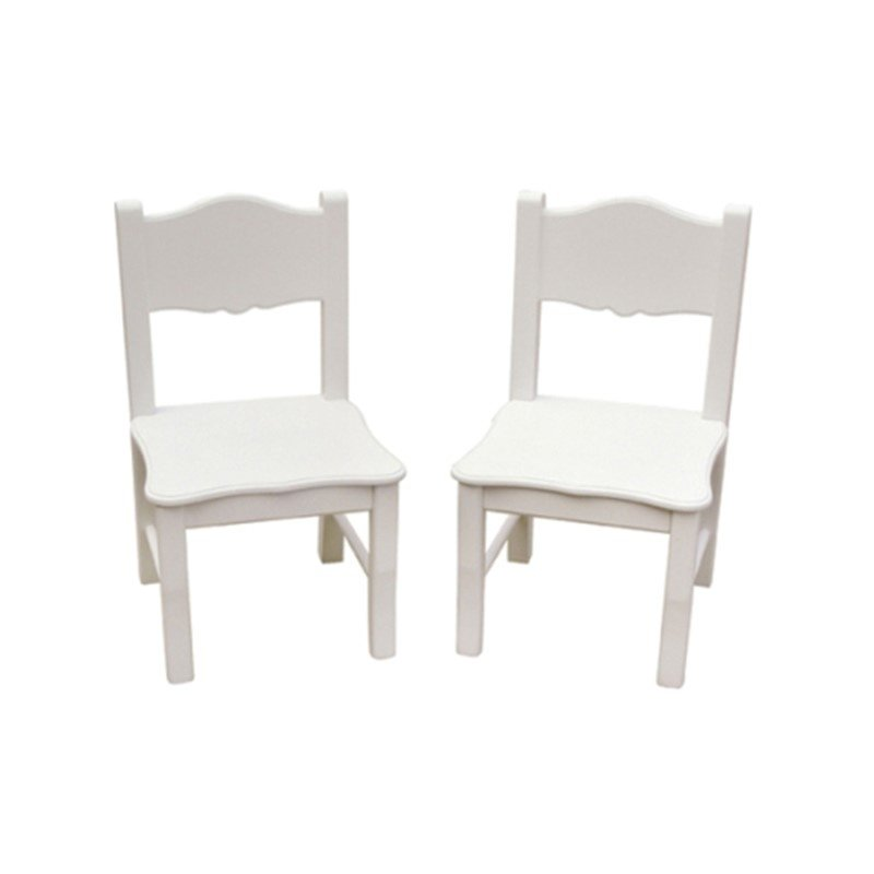 Guidecraft Classic White Extra Chairs