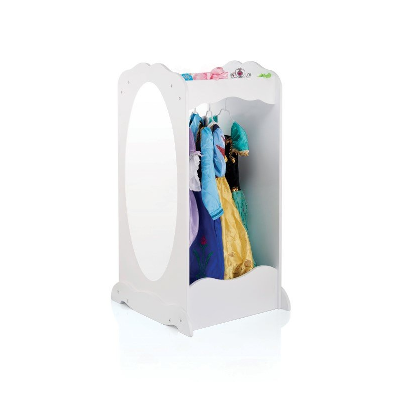 Guidecraft Dress-Up Cubby Center in White