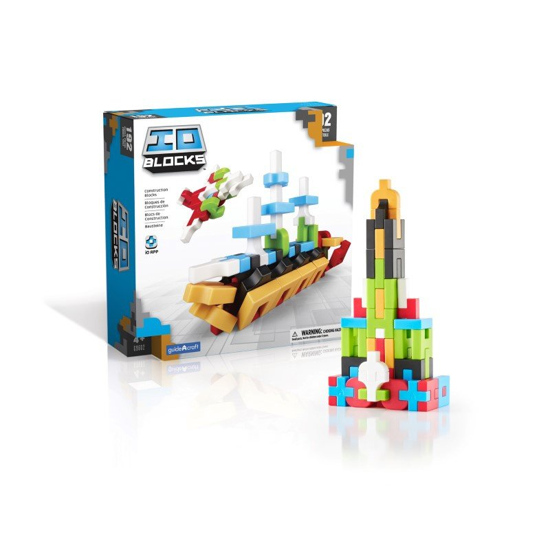Guidecraft IO Blocks 192 Piece Set