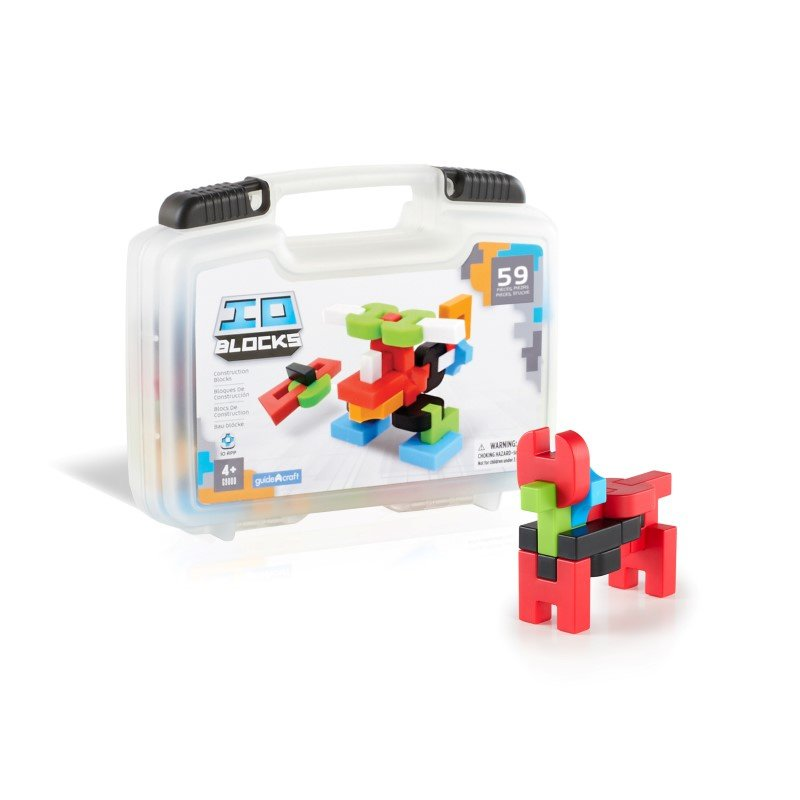 Guidecraft IO Blocks 59 Piece Travel Set