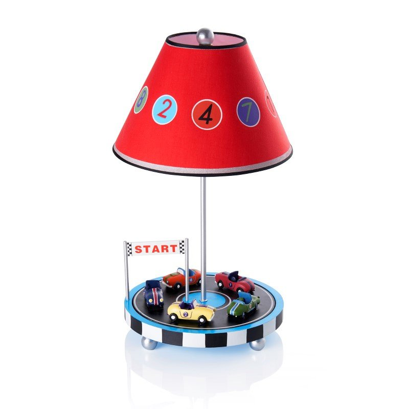 Guidecraft Retro Racers Table Lamp