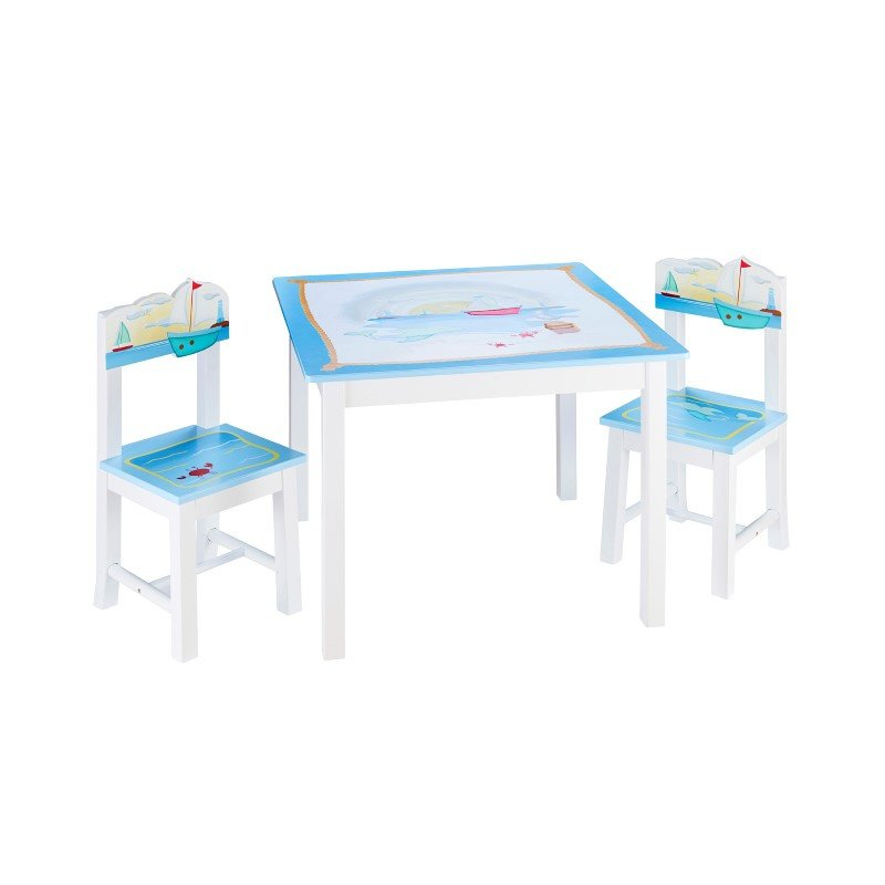 Guidecraft Sailing Table and Chair Set
