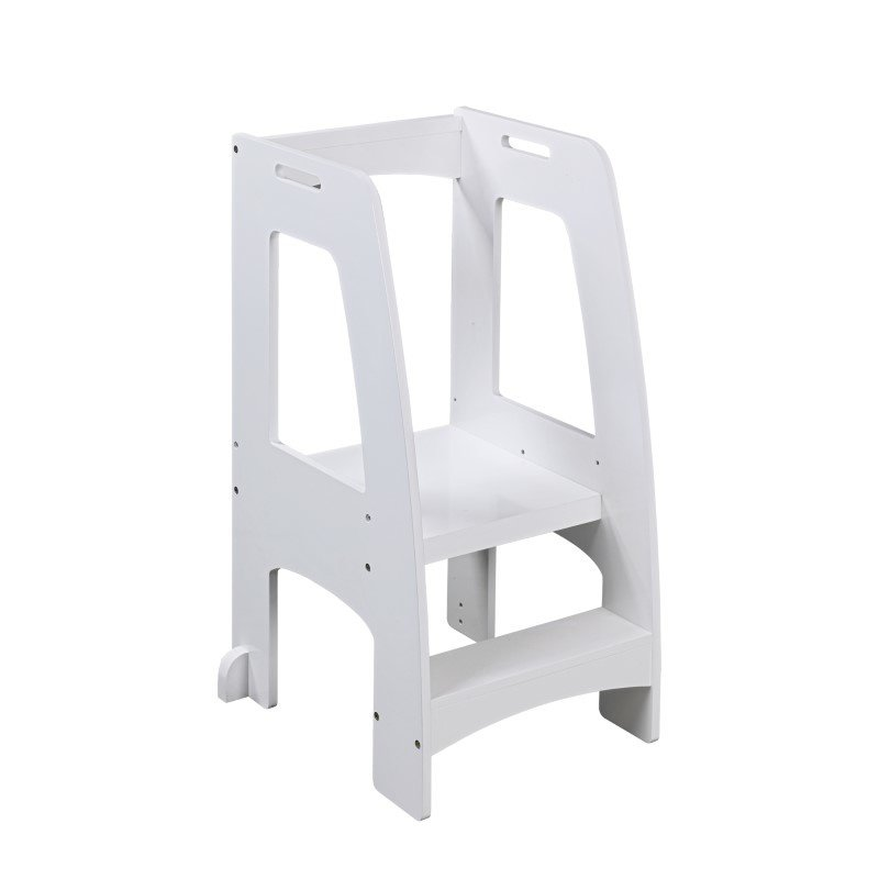 Guidecraft Step-Up Kitchen Helper in White