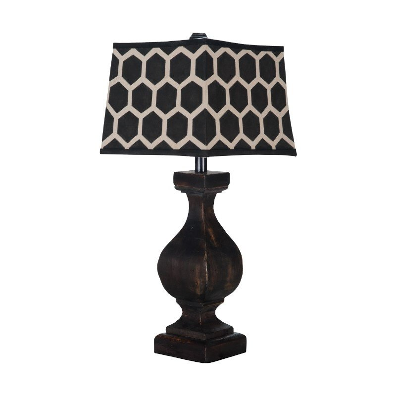 Guild Master Carved Beacon Lamp (355015-1)