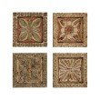 Guild Master Carved Wall Plaques Wall Art (Set of 4)