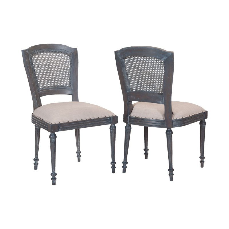 Guild Master Chelsea Side Chairs - Set of 2 (695001P)