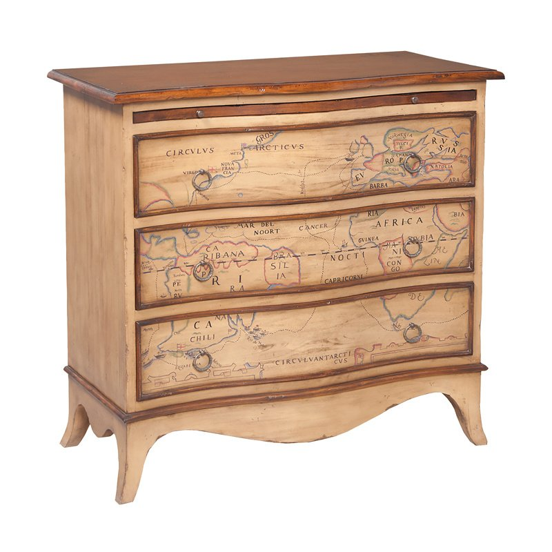 Guild Master Heritage Three Drawer Chest