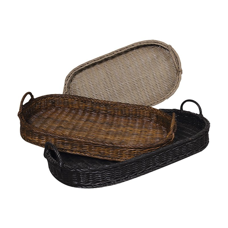Guild Master Oval Rattan Trays (280502S)