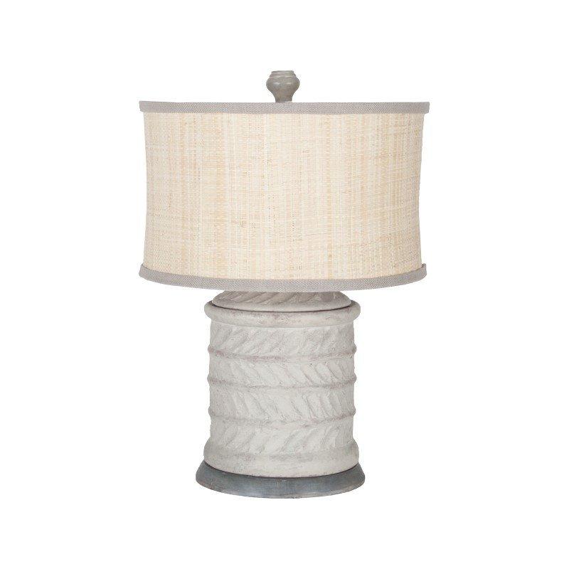 Guild Master Ribbed Terra Cotta Lamp (3516005)