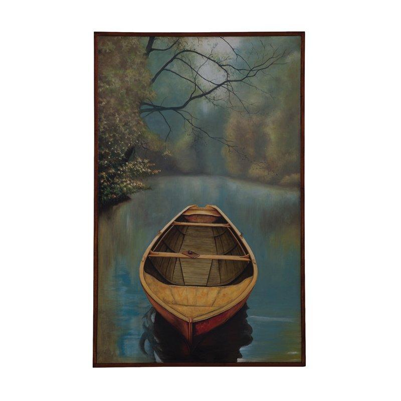 Guild Master River Boat Wall Art