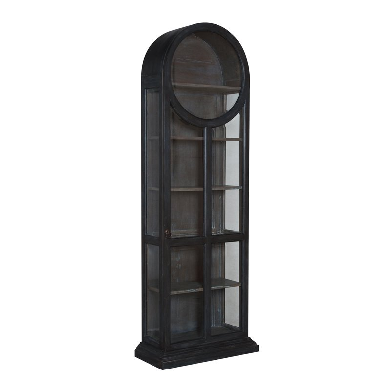 Guild Master Round Top Display Cabinet