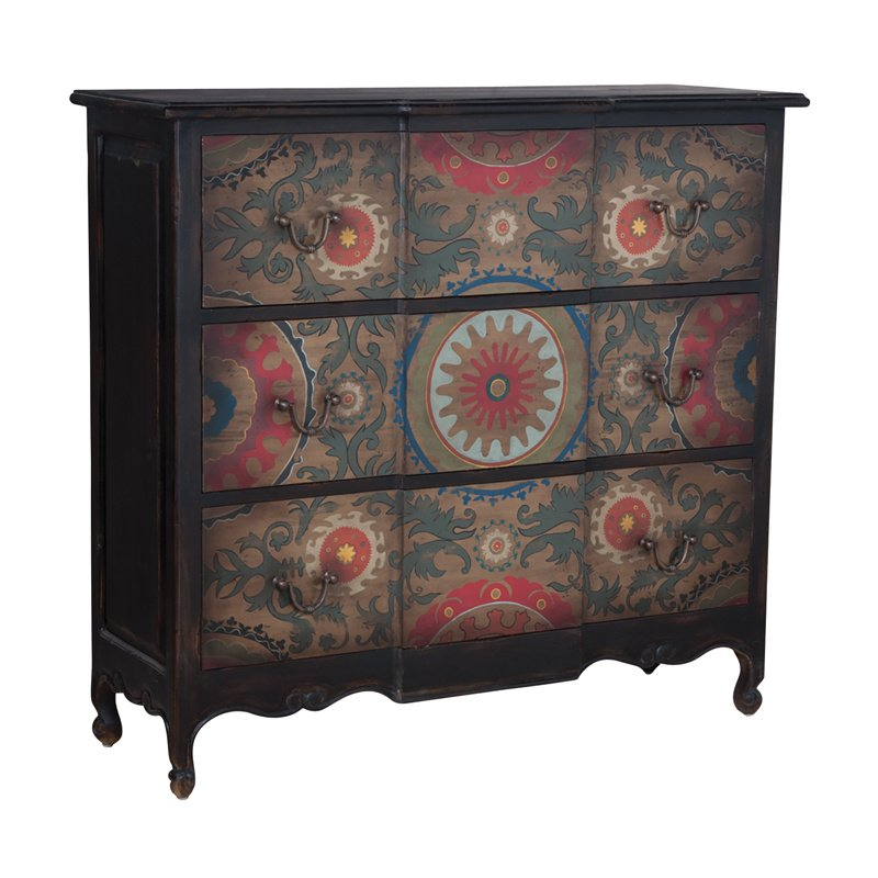 Guild Master Tall 3 Drawer Chest