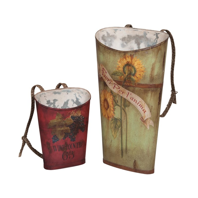 Guild Master Tin Wine Baskets