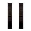 Holly & Martin Hangz 2-Piece Anyway Shelf in Black