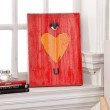 Holly & Martin Swoon Wall Panel with Eye Heart U