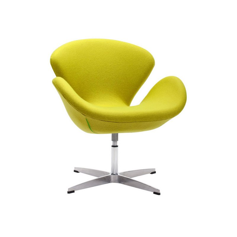 HomeRoots Furniture Arm Chair Pistachio Green - Polyblend Steel (249122)