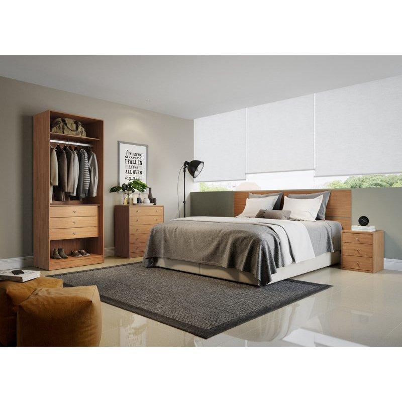 HomeRoots Furniture Basic Wardrobe Closet 2.0 (250675)