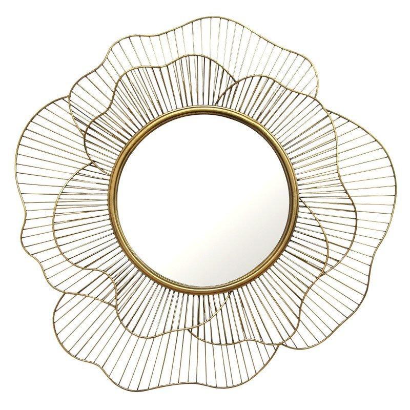 HomeRoots Furniture Flower Shape Wall Mirror (321072)