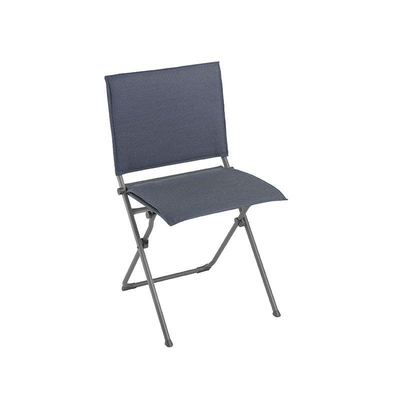 HomeRoots Furniture Folding Chair - Titane Steel Frame - Marina Hedona Fabric (320574)